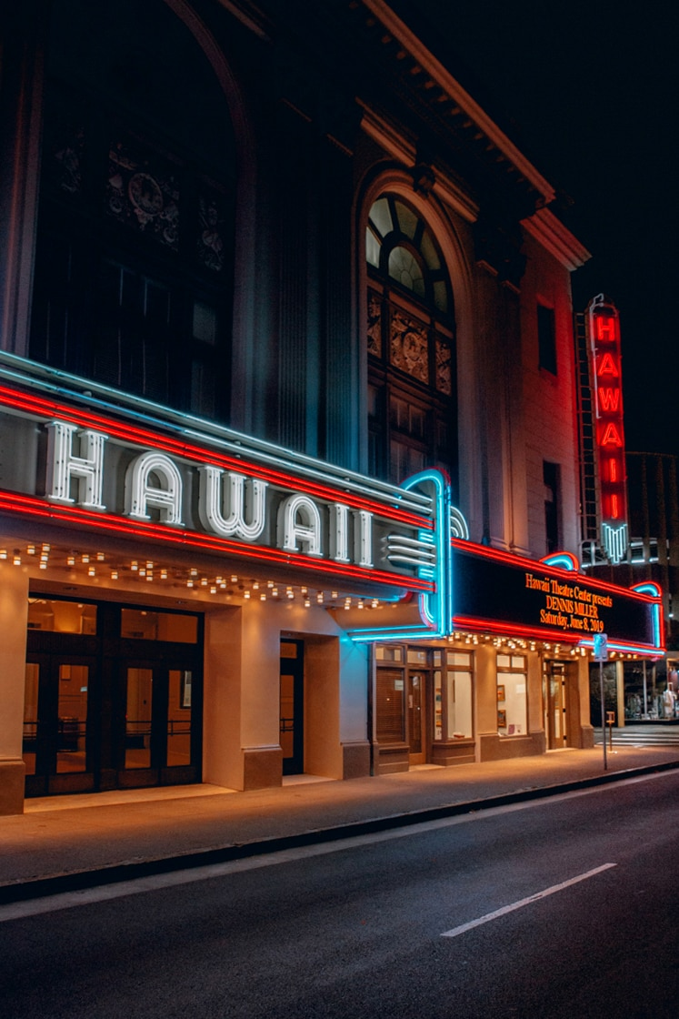 HAWAII Theater Chinatown