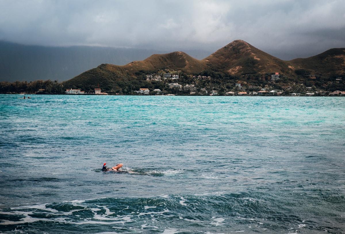 Snorkeling Mokulua Islands