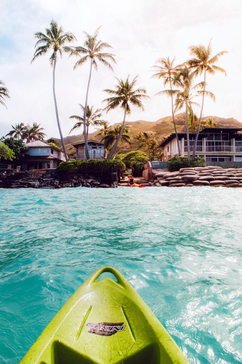 Kayaking Oahu