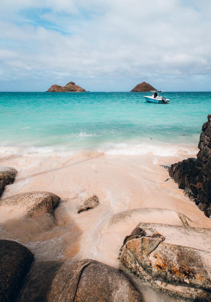 Kayaking to Mokulua Islands Oahu