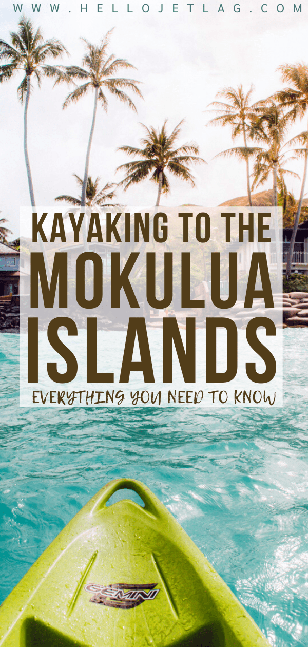 How to Kayak to the Mokes