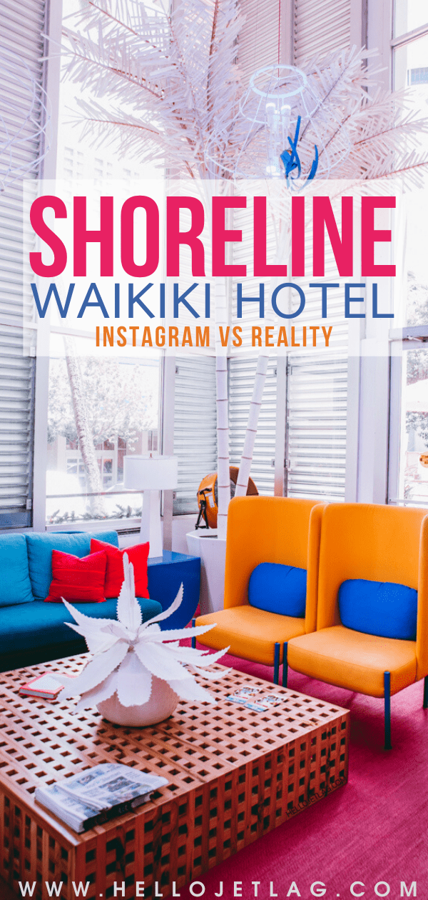 Shoreline Hotel Review (Oahu, Hawaii)