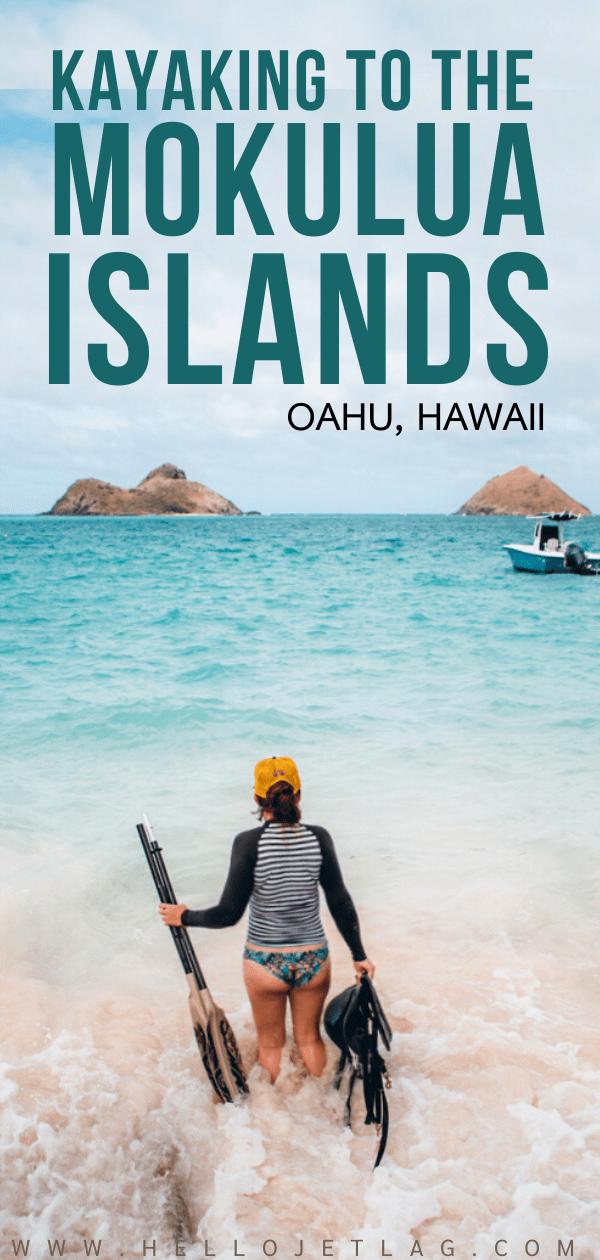 Kayaking to Mokulua Islands