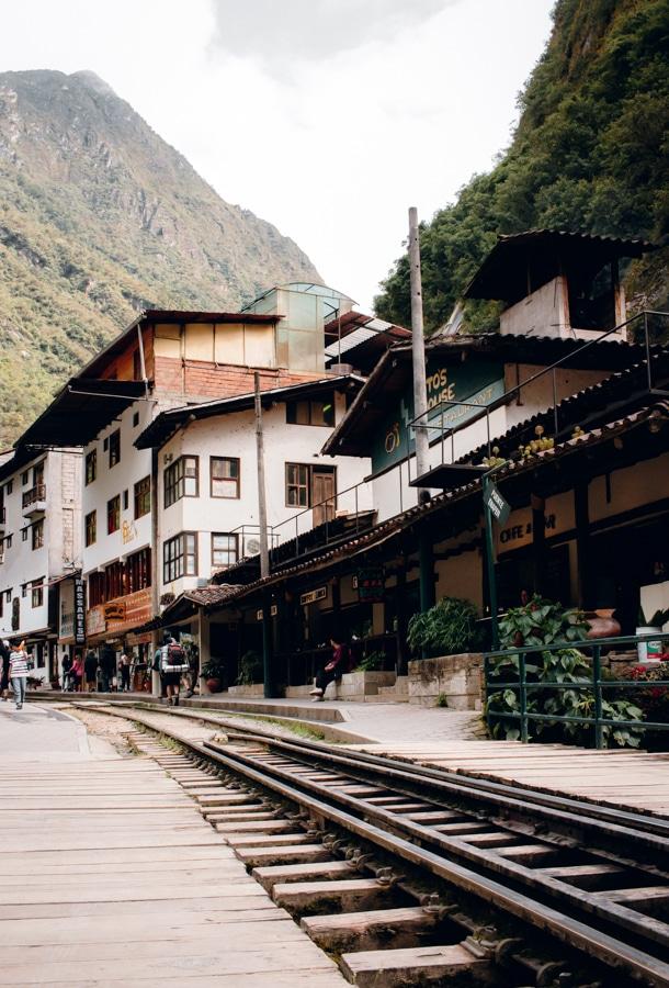 Aguas Calientes Train Tracks