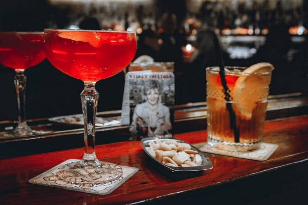 Barcelona cocktail bar