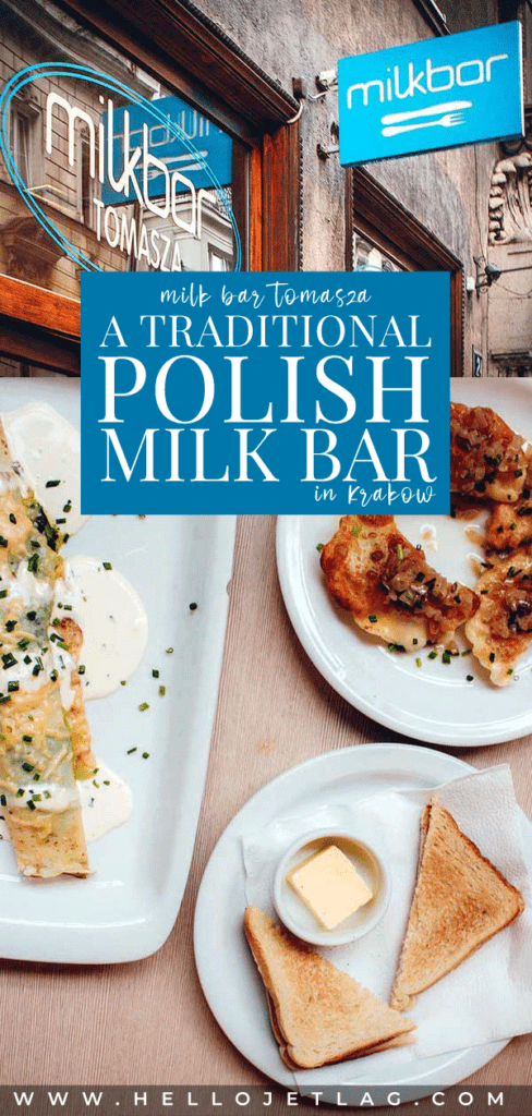 A visit to a Milk Bar in Krakow is the best cheap meal in the city. Discover the history of  Polish milk bars, what to expect at Milk Bar Tomasza, how to get there and more.