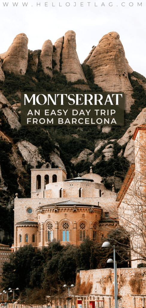 Montserrat monastery is an easy day trip from Barcelona, Spain. How to get from Barcelona to Montserrat, things to do, tips for visiting, photos and more