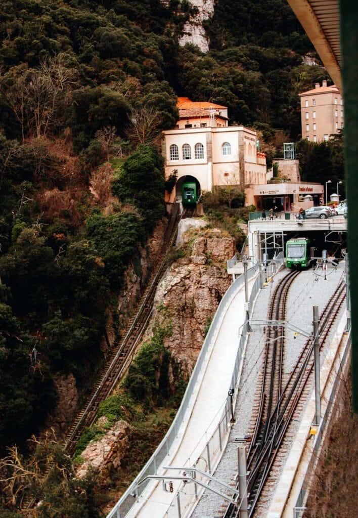 Montserrat Cremellera (Rack Railway)