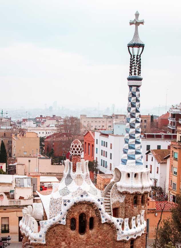 Park Guell Barcelona, Spain