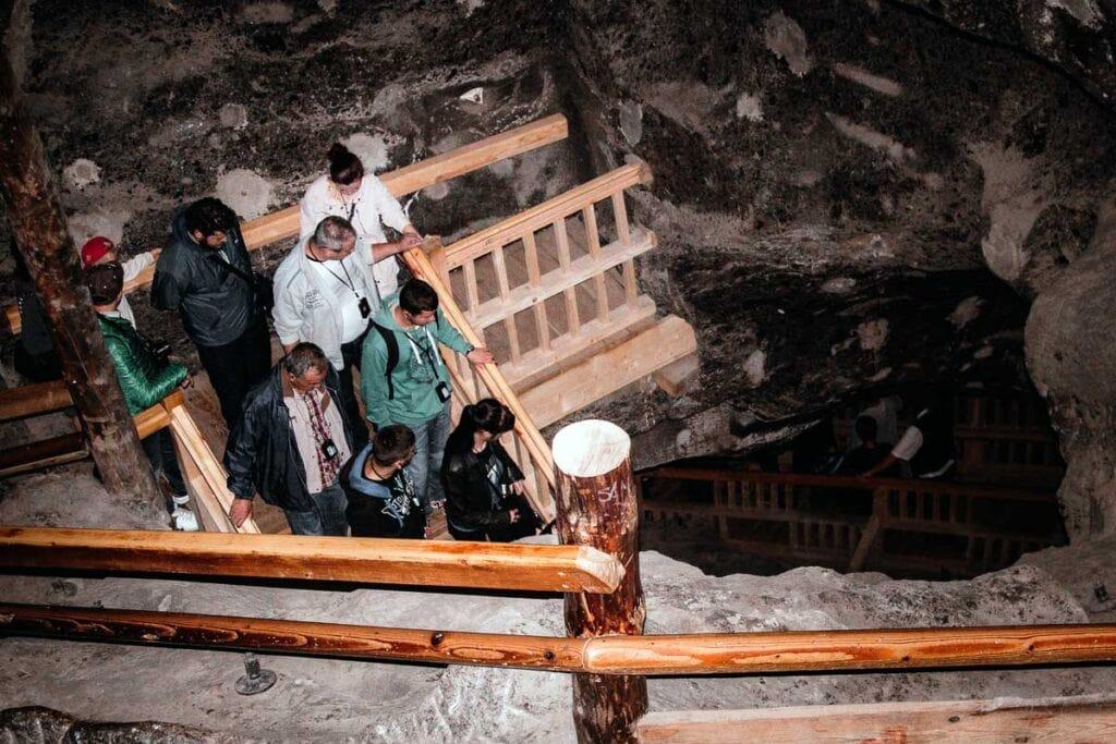 Wielickza Salt Mine Staircase