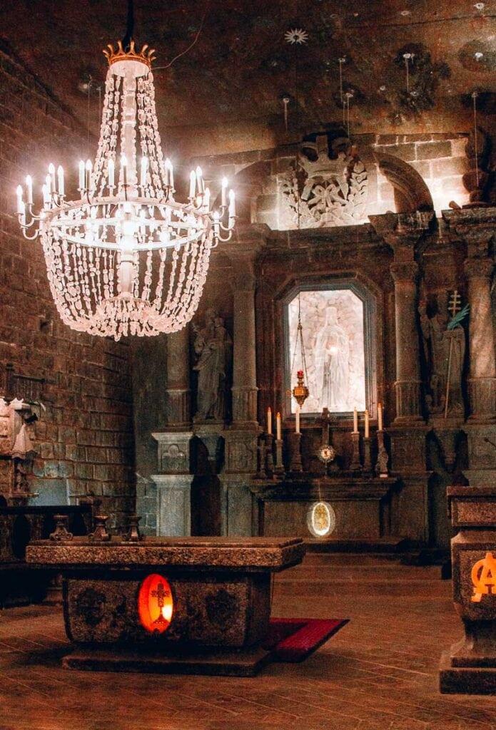 Wieliczka Salt Mine (Poland) St. Kinga's Salt Cathedral