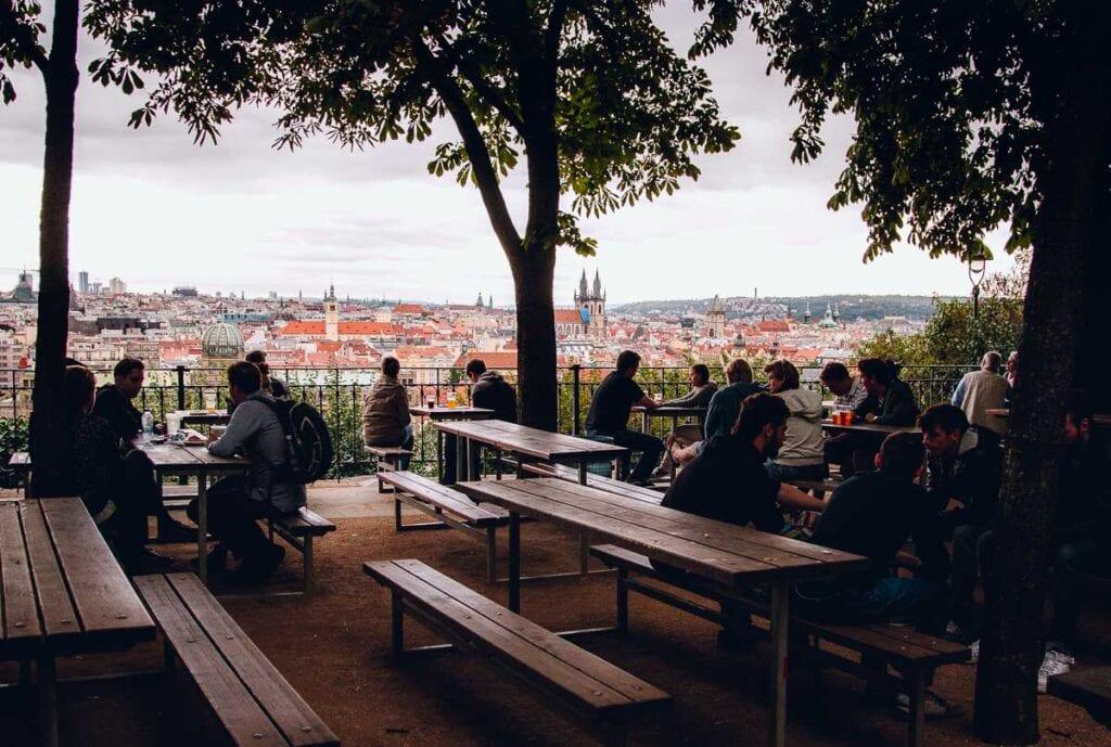 Letna Beer Garden (Prague, Czech Republic)