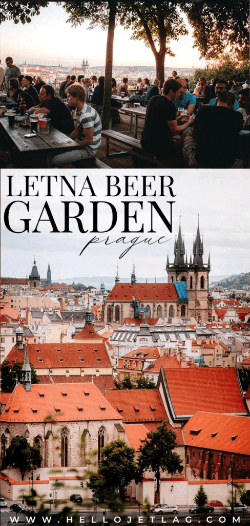 Letna Beer Garden is located in Letna Park and it offers some of the best views of Prague. What to expect, how to get there, photos & more.