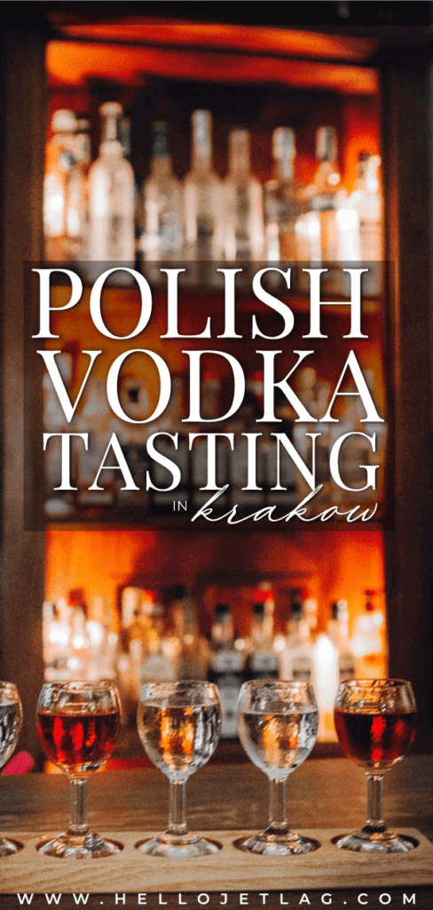 Wodka is a Polish vodka tasting bar in Old Town Krakow offering over 100 unique flavors such as chocolate chili, horseradish, mint and more.