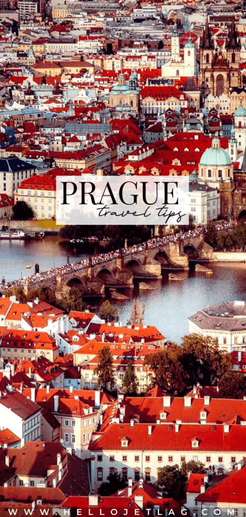 15 essential Prague travel tips for first time visitors. Click to discover how to get from Prague airport to city center, how much to tip, day trips, how to save money and more.