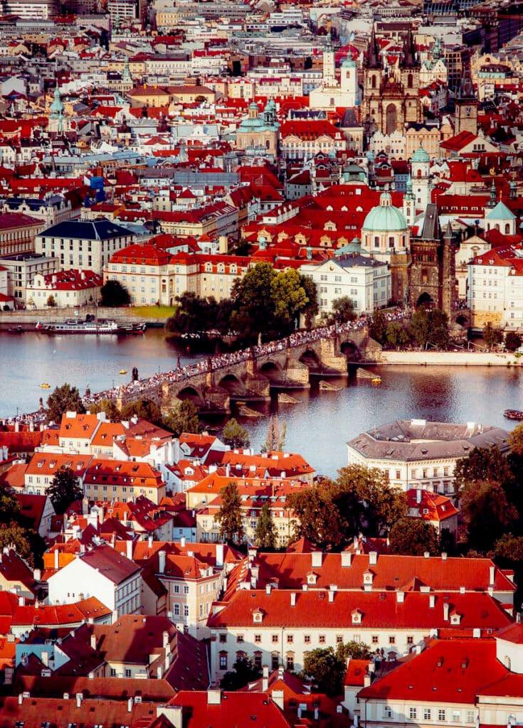 Petrin Tower Prague