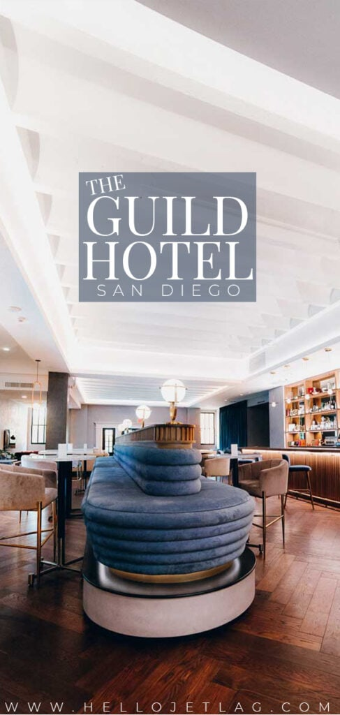 With a fantastic location, stellar customer service and gorgeous aesthetic, The Guild Hotel should be on your radar of places to stay in Downtown San Diego. Keeping reading for a full in-depth review, plus photos & more.
