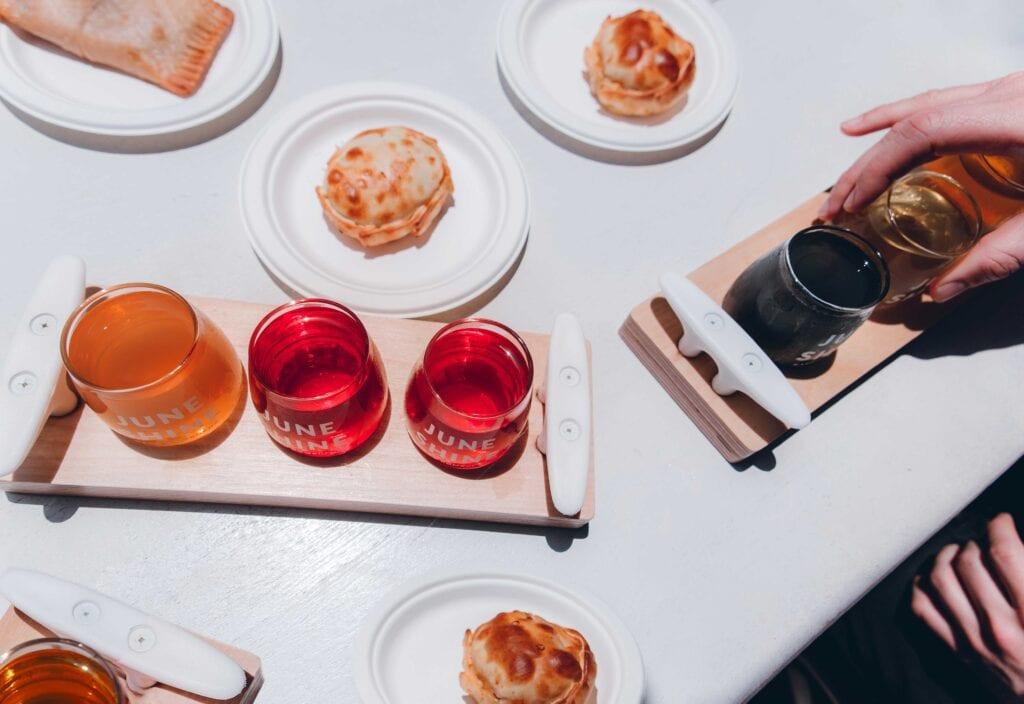 Juneshine tasting room Los Angeles