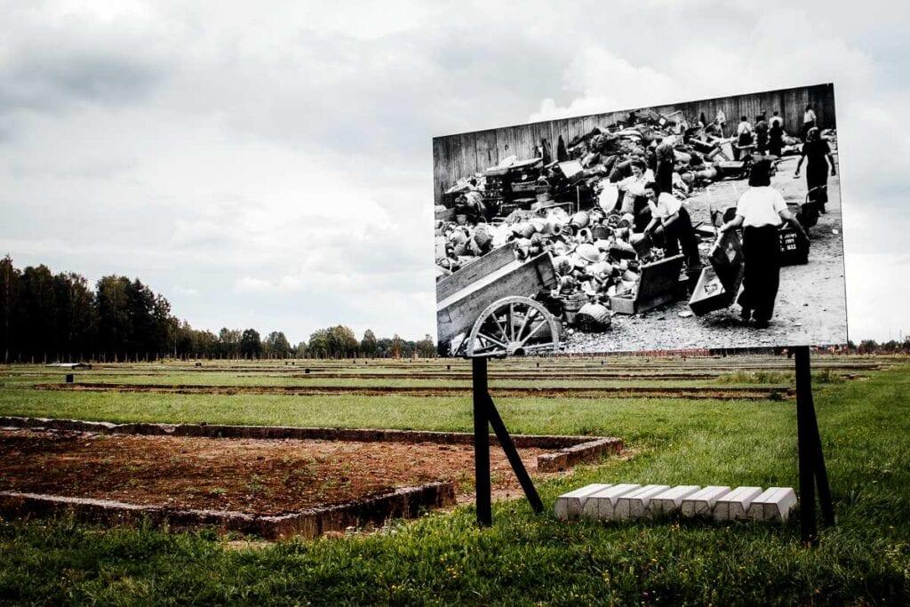 Birkenau Memorial in Oswiecim, Poland