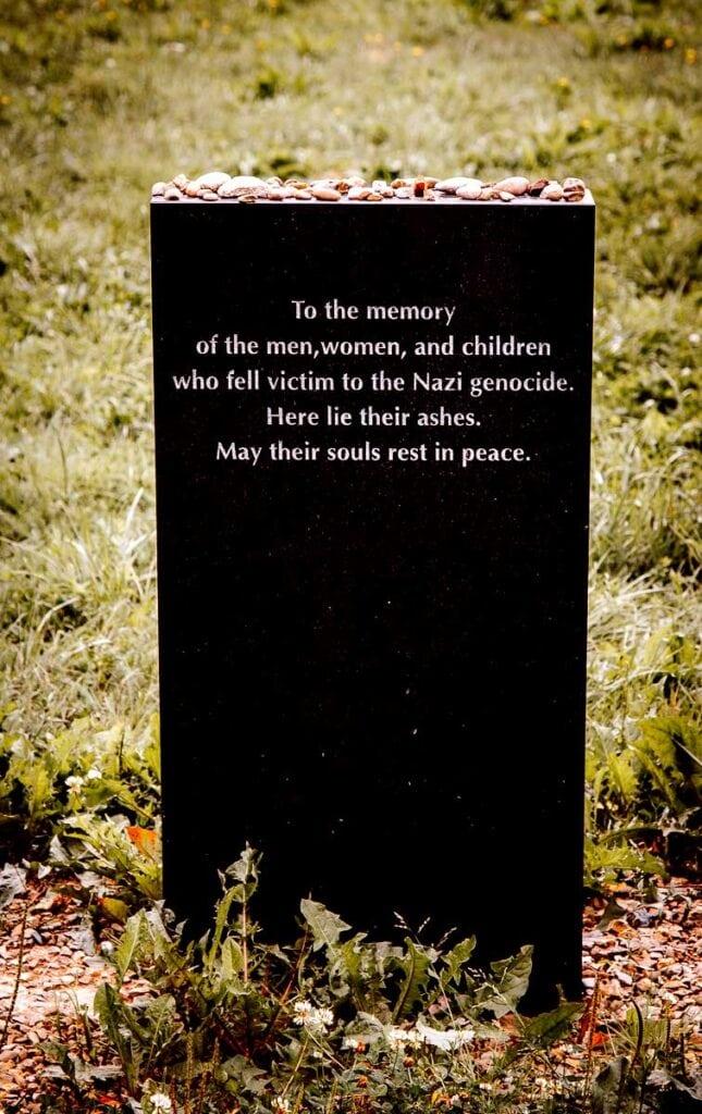 Memorial at Birkenau in Poland