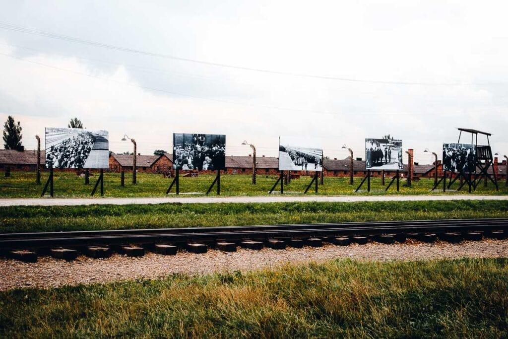 Birkenau Concentration Camp Memorial at Auschwitz