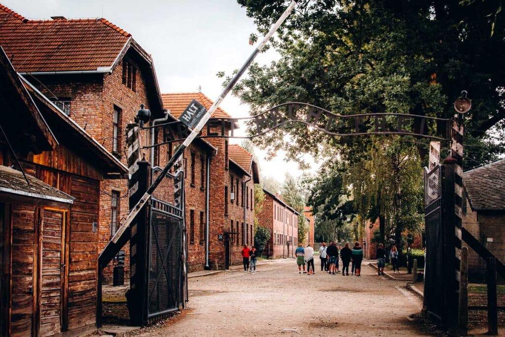 Auschwitz Arbeit Macht Frei Gate
