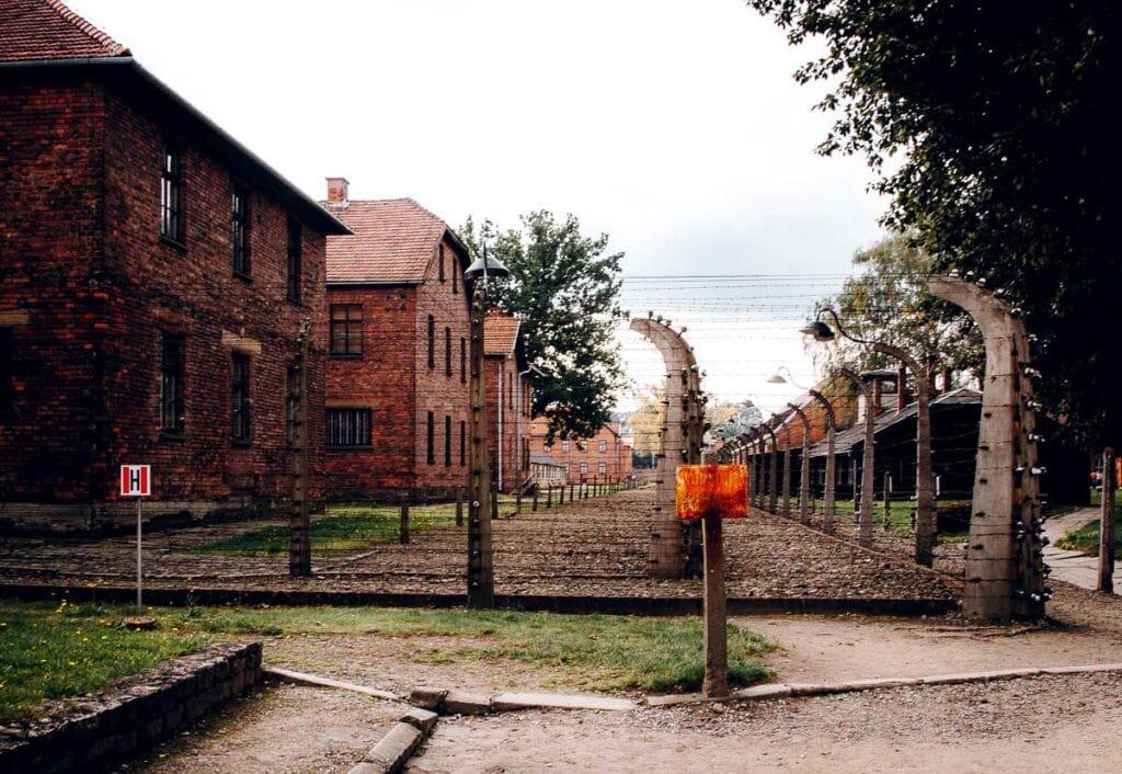 Touring Auschwitz