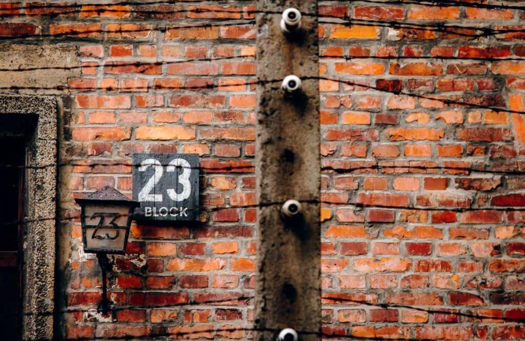 Block at Auschwitz