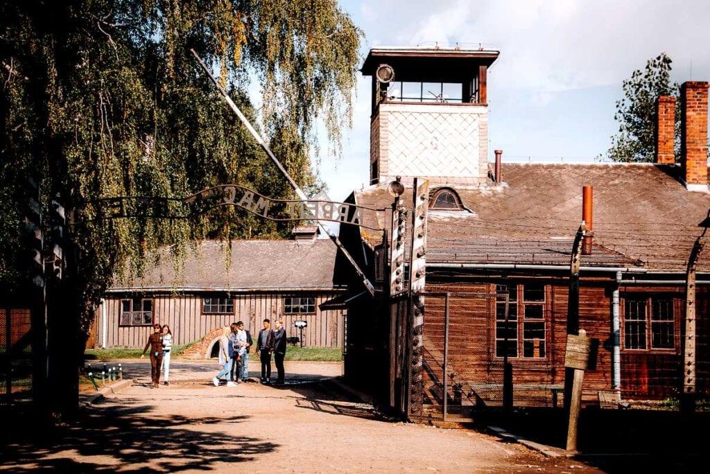 Auschwitz I Arbeit Macht Frei gate